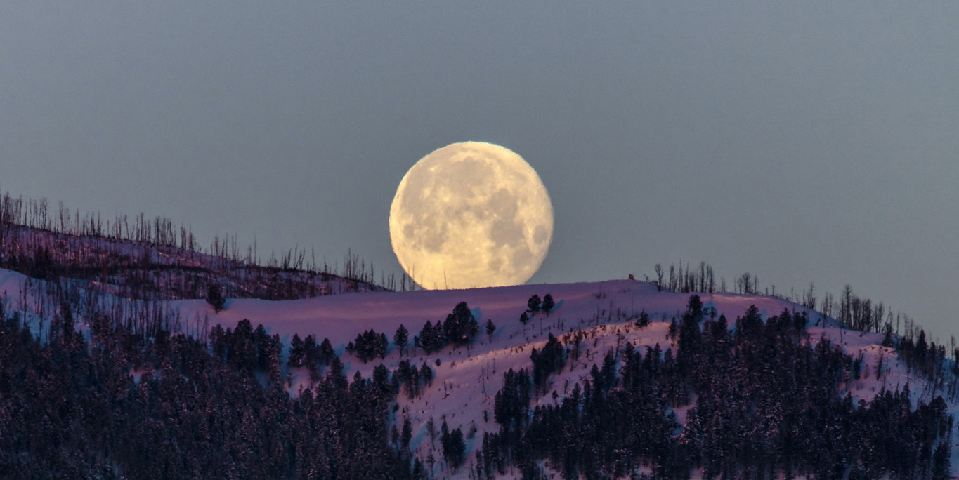 Why February's Full Super Snow Moon Will Light Up the Sky