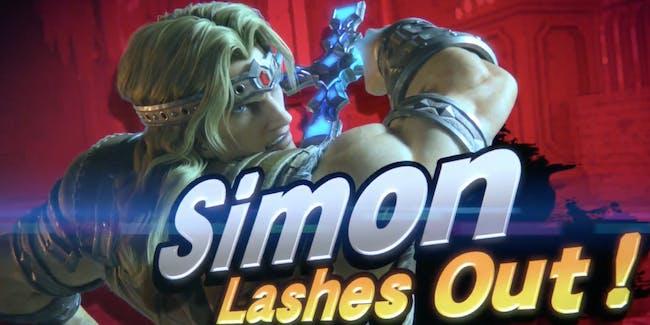 super smash bros ultimate simon belmont