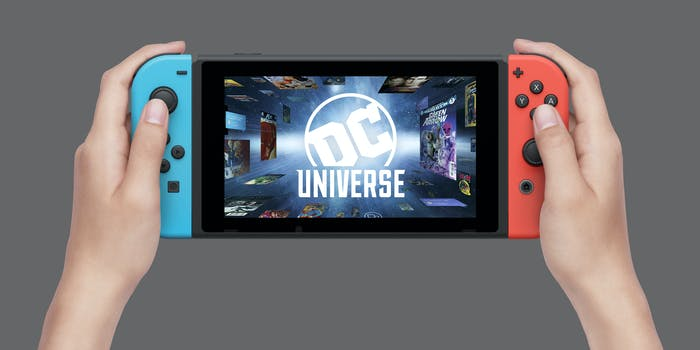 DC Universe Nintendo Switch