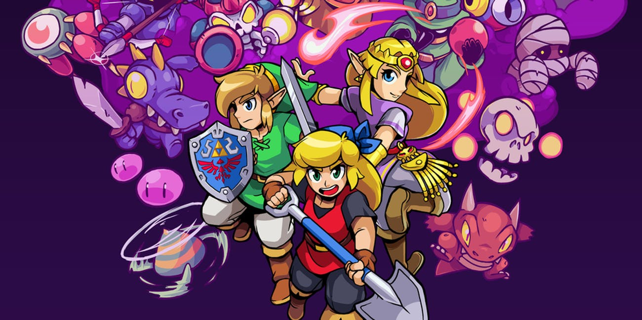 'Cadence of Hyrule' Zelda or Link? How to Pick Your Starting Character differences guide