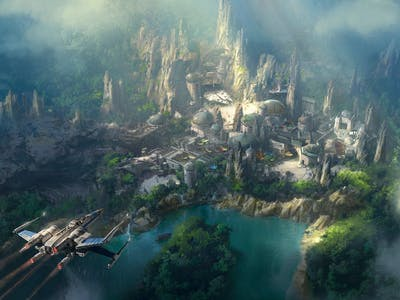 Disney Teases 'Star Wars' Experience With Official Concept Art