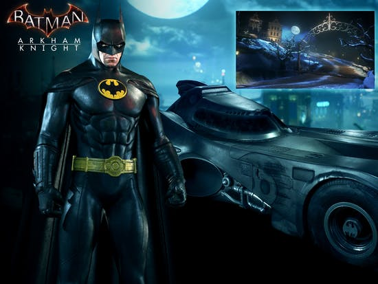 Live Out Your 1989 'Batman' Fantasies in New 'Arkham Knight' DLC