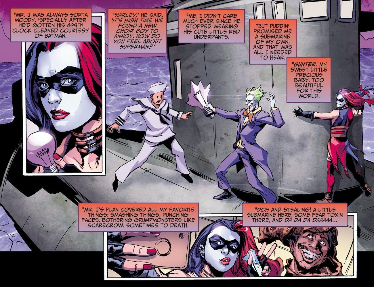 DC Injustice Harley Quinn Ground Zero Comic