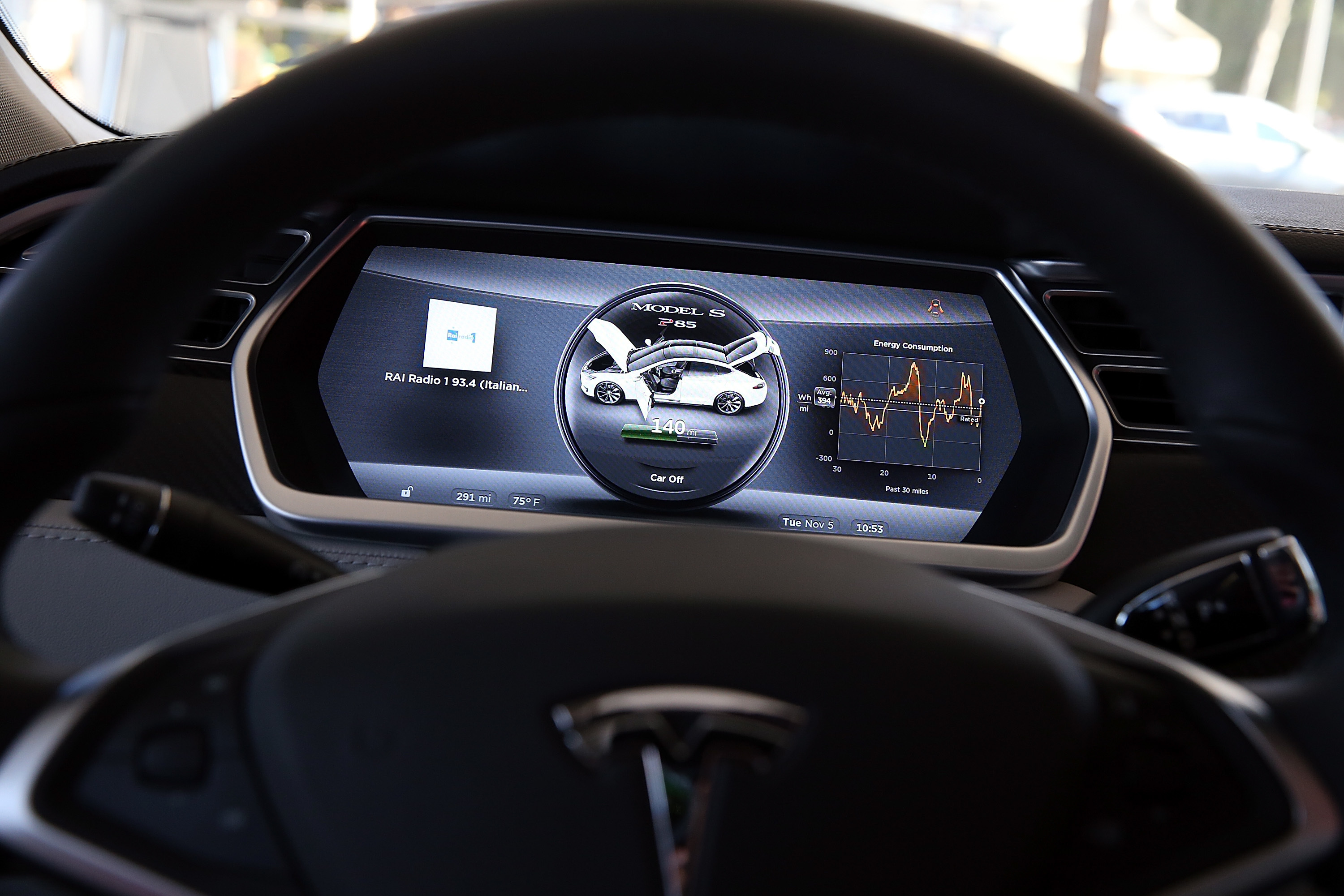 Elon Musk Says The Tesla Model 3 S Dashboard Is Just Fine
