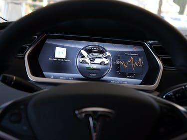Elon Musk Says the Tesla Model 3's Dashboard is Just Fine