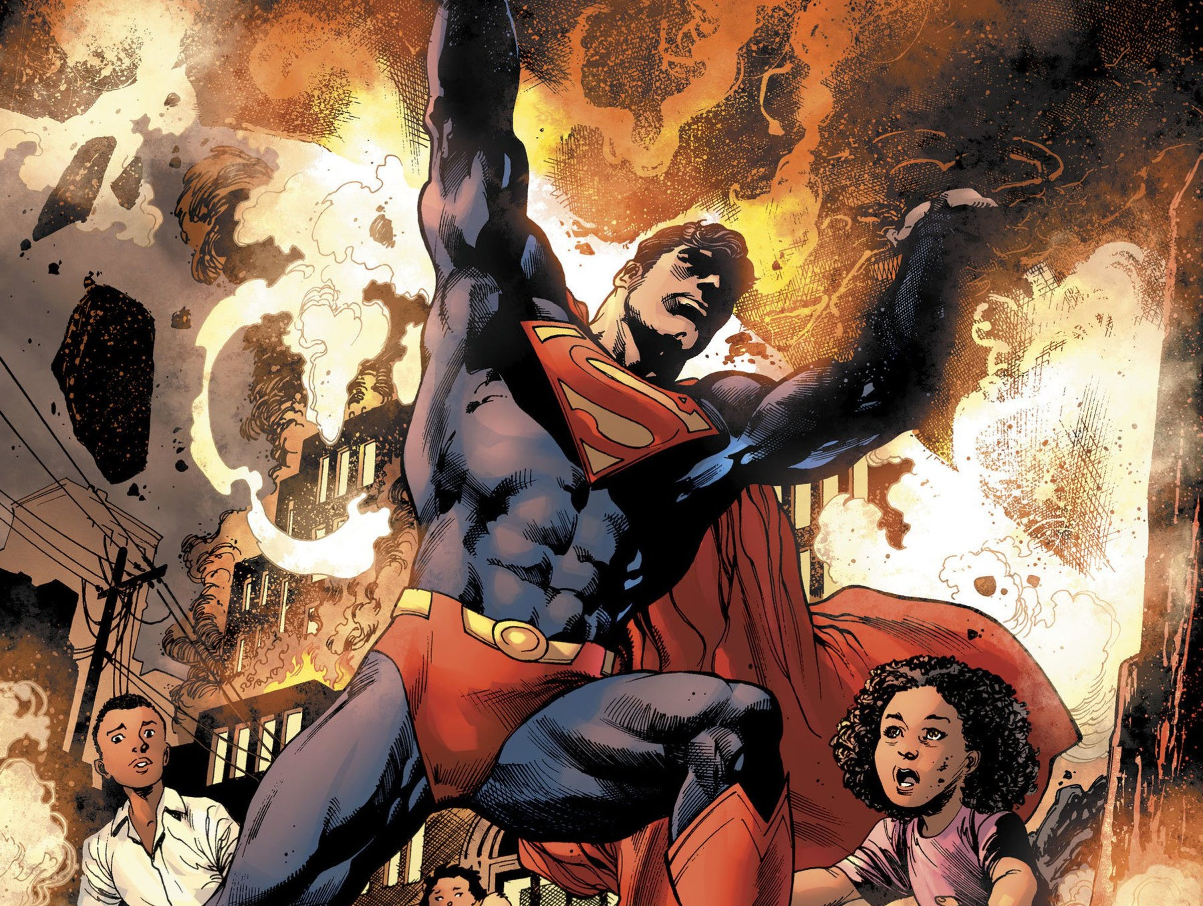 Superman Man of Steel Bendis