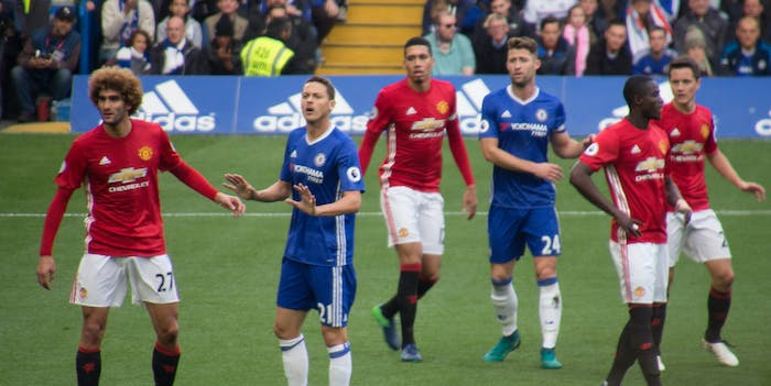Manchester United Chelsea  bias brain scans