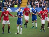 Manchester United Chelsea  bias brain scans