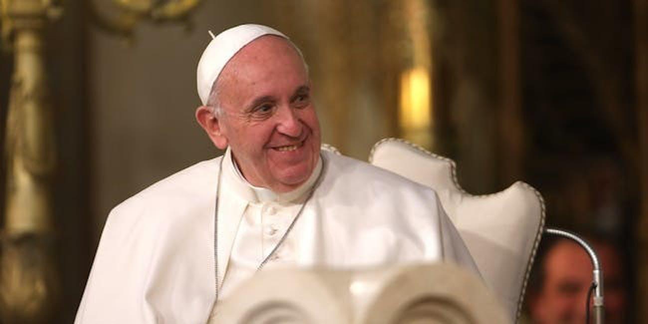 pope francis pig organs