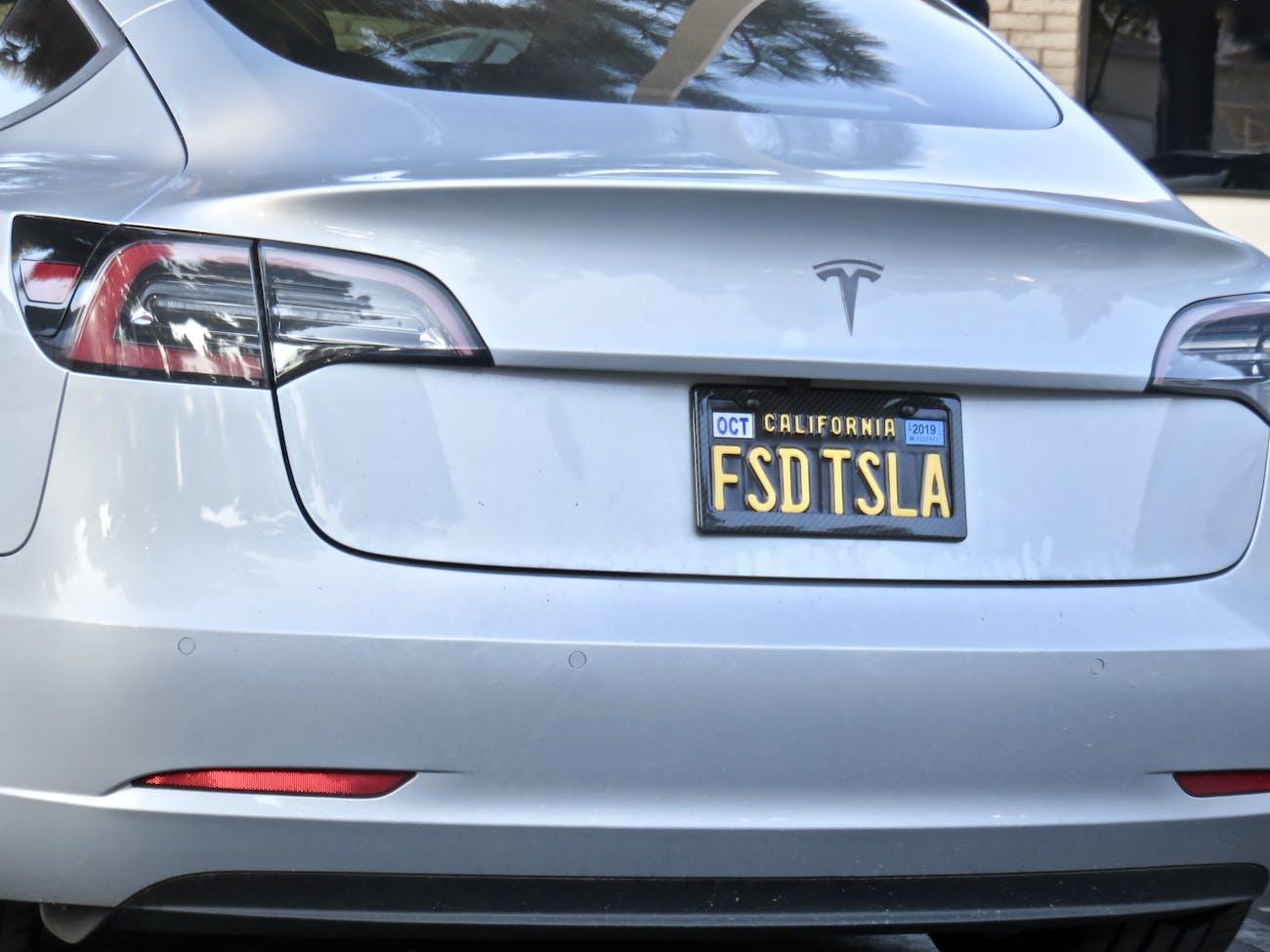 Full Self Driving Tesla