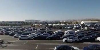 Tesla Model 3 timelapse