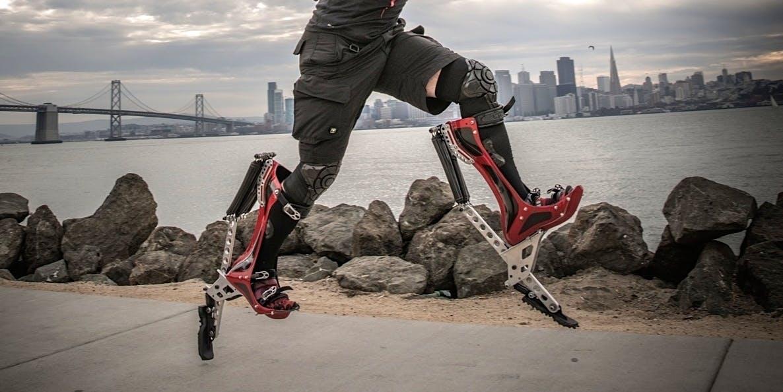 Keahi Seymour S Bionic Boots Create Olympian Like Speed