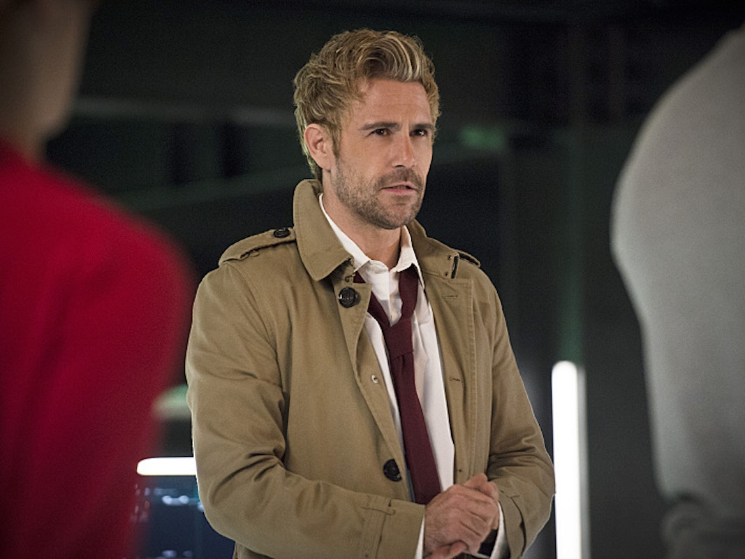 Constantine Arrow Legends of Tomorrow