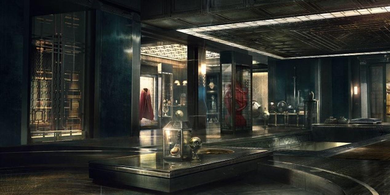 The Sanctum Sanctorum in Marvel's Doctor Strange