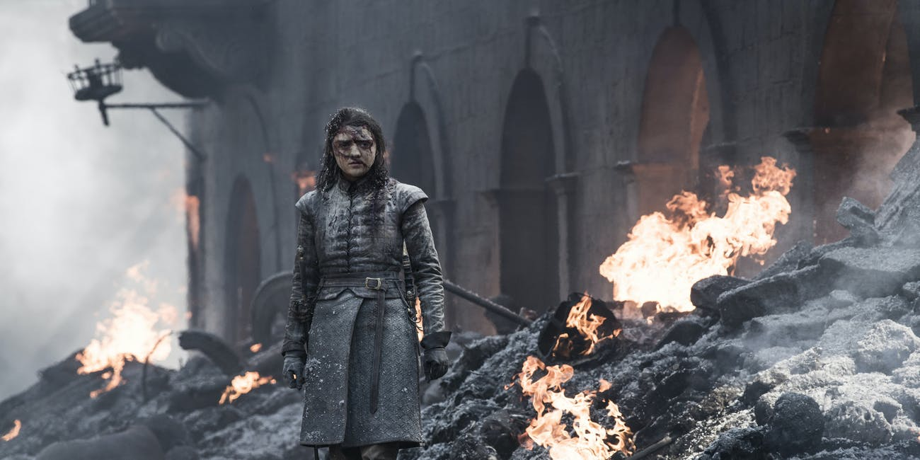 Arya in 'Game of Thrones' Season 8, Episode 5