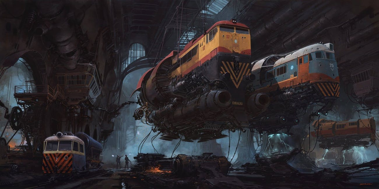 The 7 Best Dieselpunk Artists Working Right Now Inverse