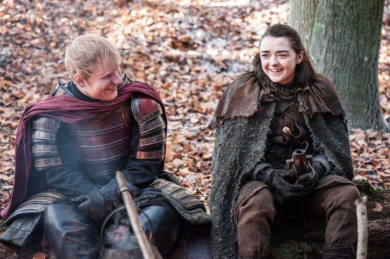 "Ed Sheeran, is the ""shape of you"" already a charred heap of ash and bone?"