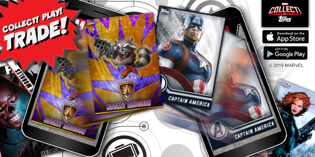 MARVEL Collect! By Topps, MCU, Marvel Universe, Digital Collectible, iOS app, Android App, Google Play, Apple App Store, card collecting,