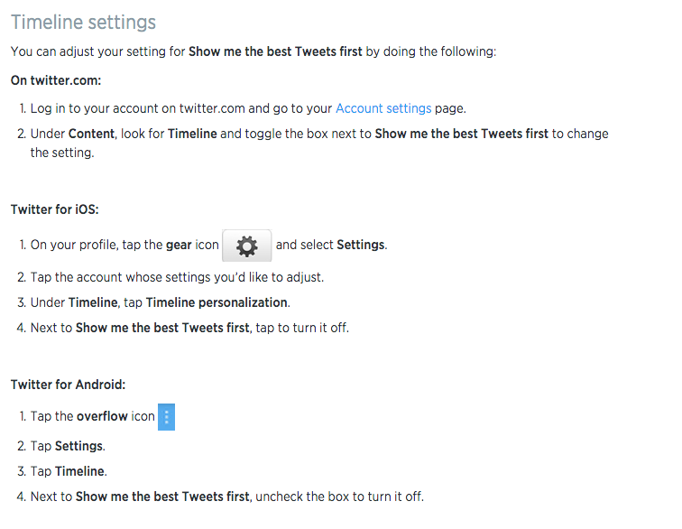 Twitter's Algorithm: How to Turn It Off | Inverse