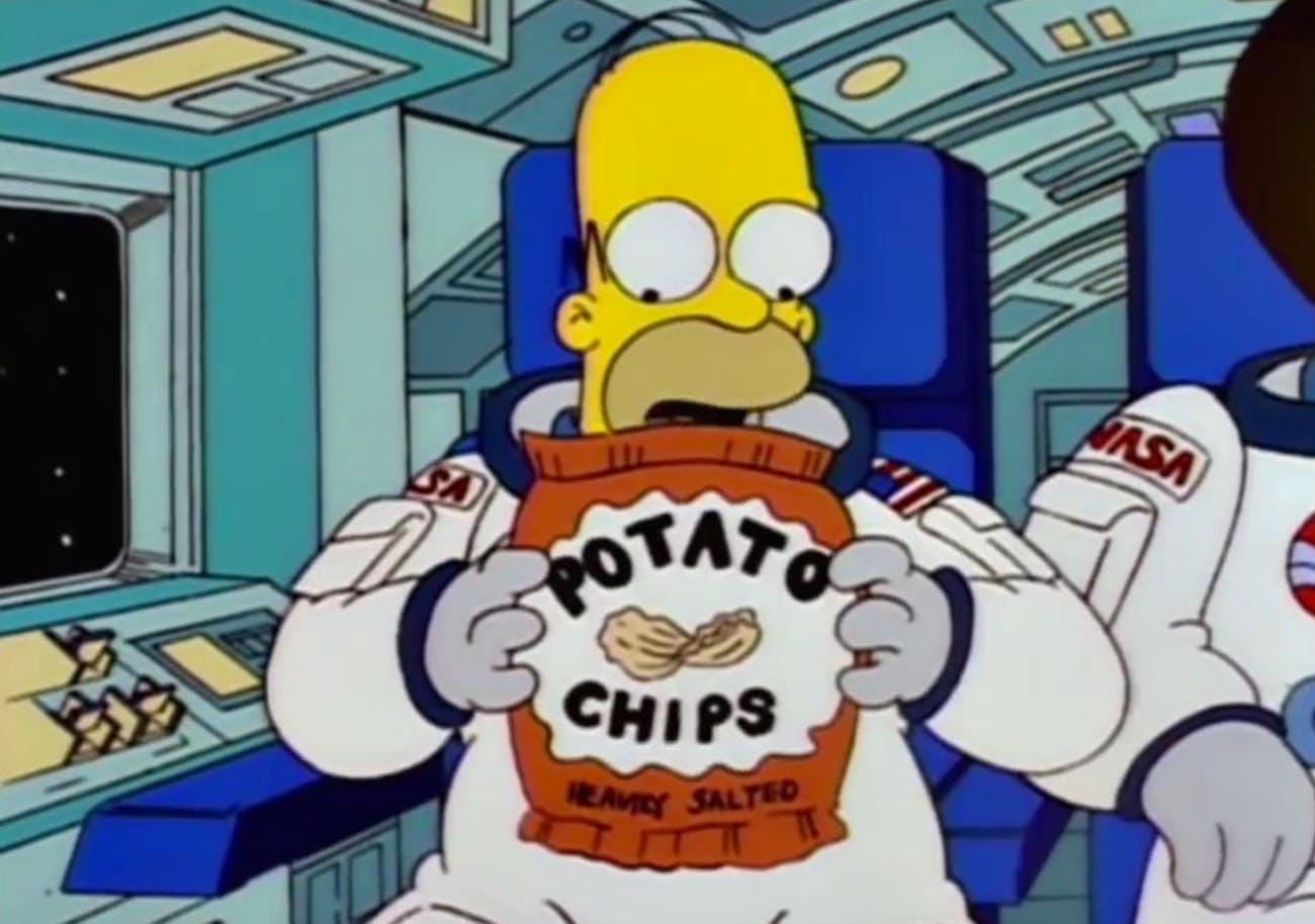 """Deep Space Homer"""
