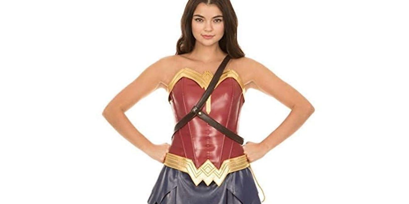 DC Comics Wonder Woman Warrior Corset and Skirt Costume Set