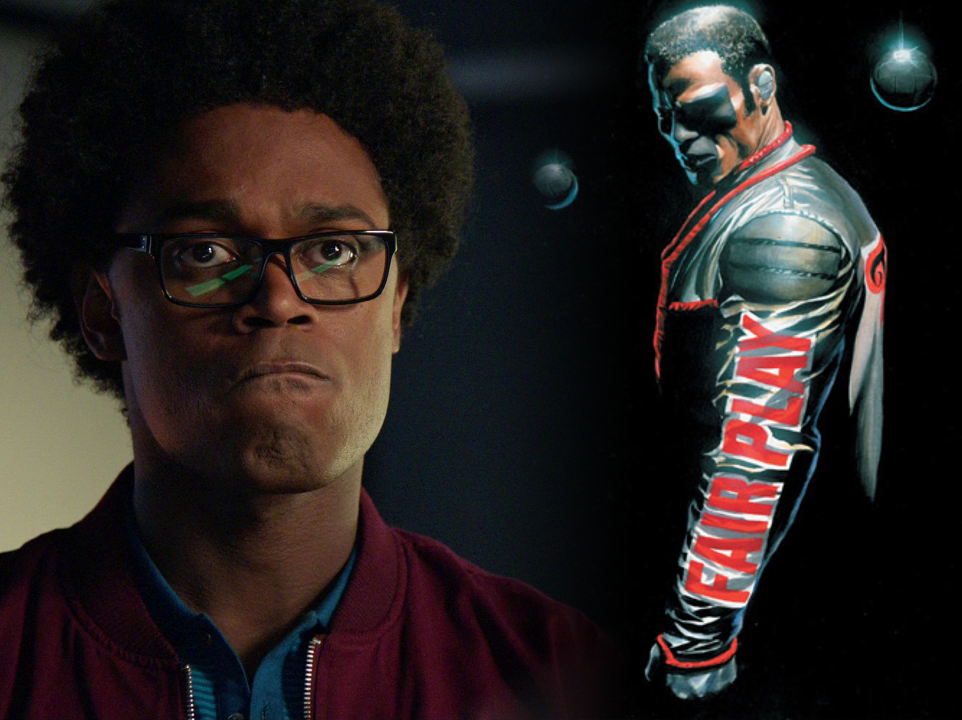 Mr. Terrific Reveals Backstory to His Iconic Jacket on 'Arrow'