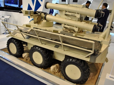 A Robotic Tank Is on Its Way to Ukraine