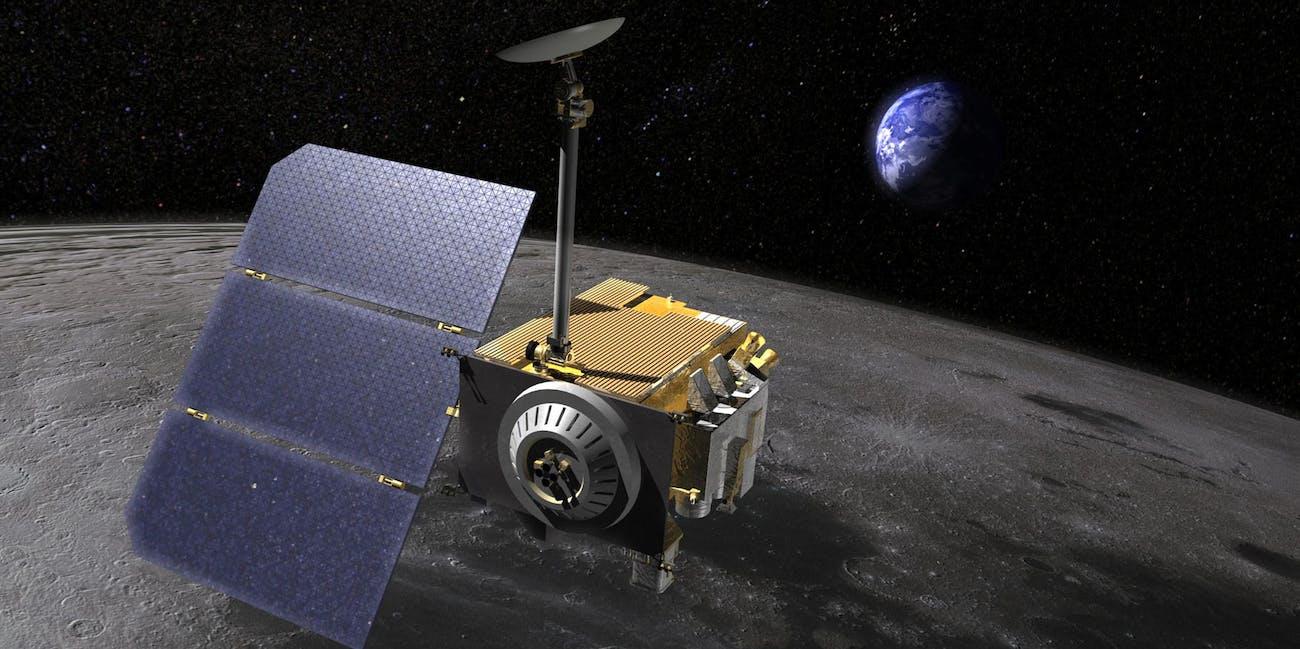 nasa Lunar Reconnaissance Orbiter LRO moon satellite