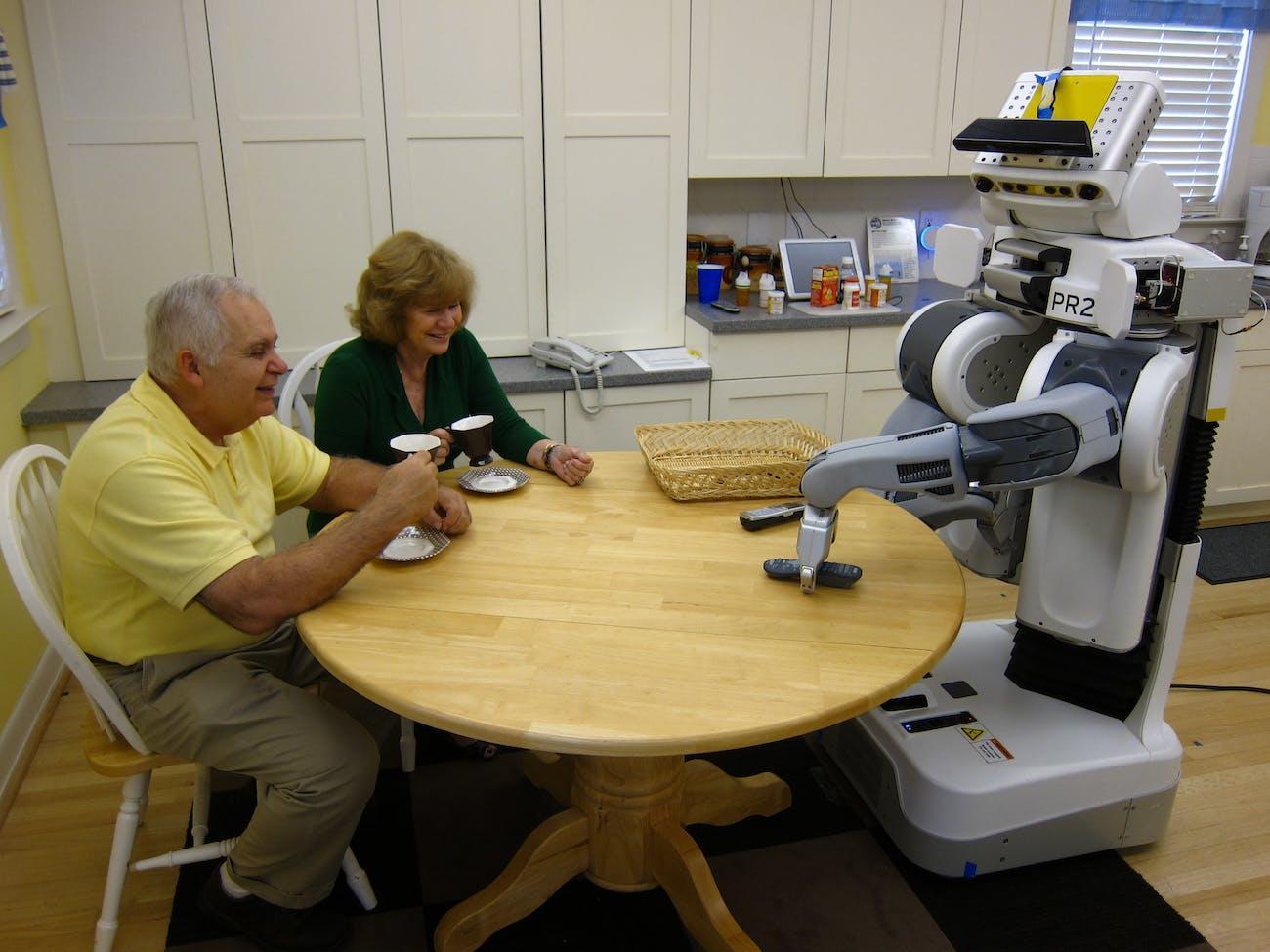 Eldercare Robot