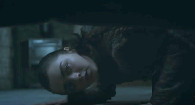 Maisie Williams as Arya Stark in 'Game of Thrones' Season 7