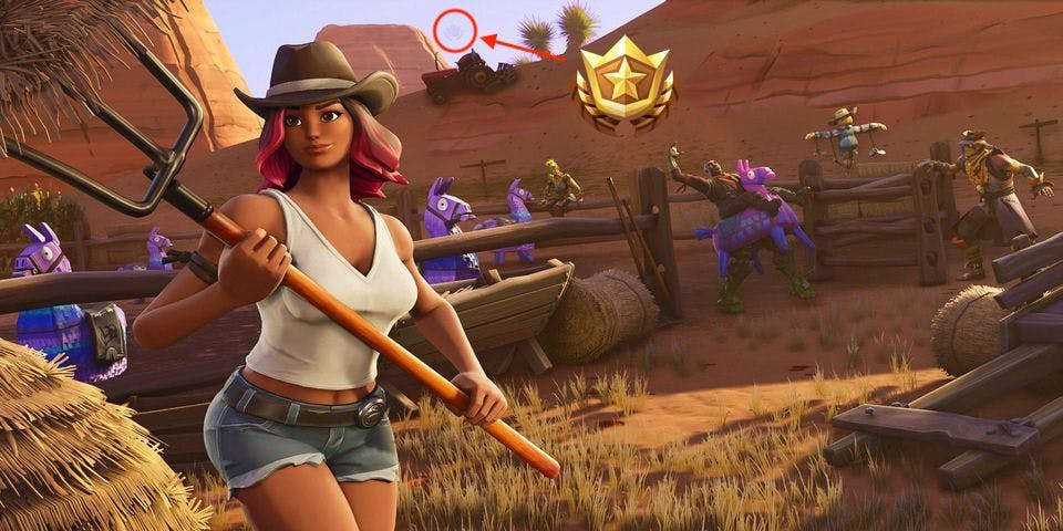 Fortnite Week 1 Secret Star Location Map And Video Guide For