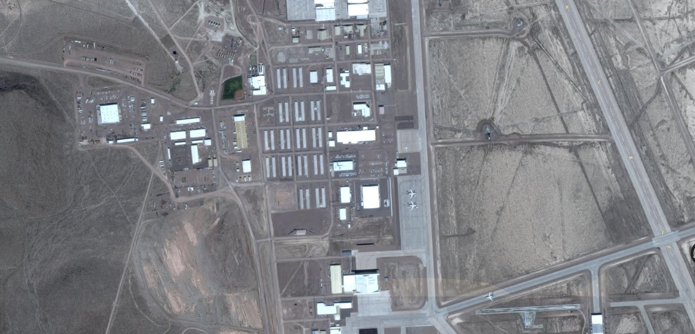 Google Timelapse Maps Reveal Area 51 in Stunning Detail | Inverse