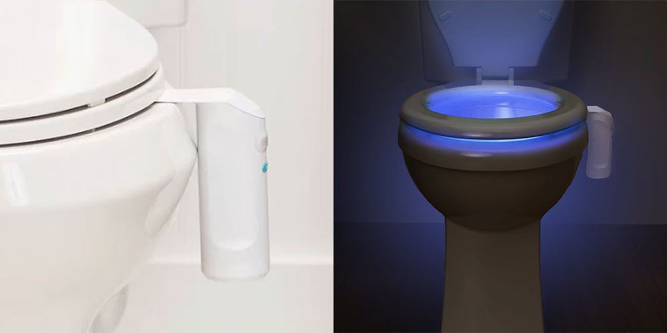 save off 61315 fe94a LooLoo: The Automatic Toilet Freshener & Night Light