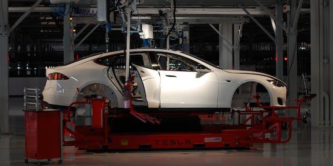 Tesla Factory, Fremont (CA, USA)