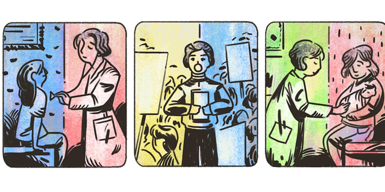 Helen Rodríguez Trías Google Doodle