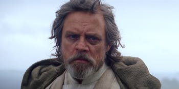Star Wars The Last Jedi Luke Skywalker