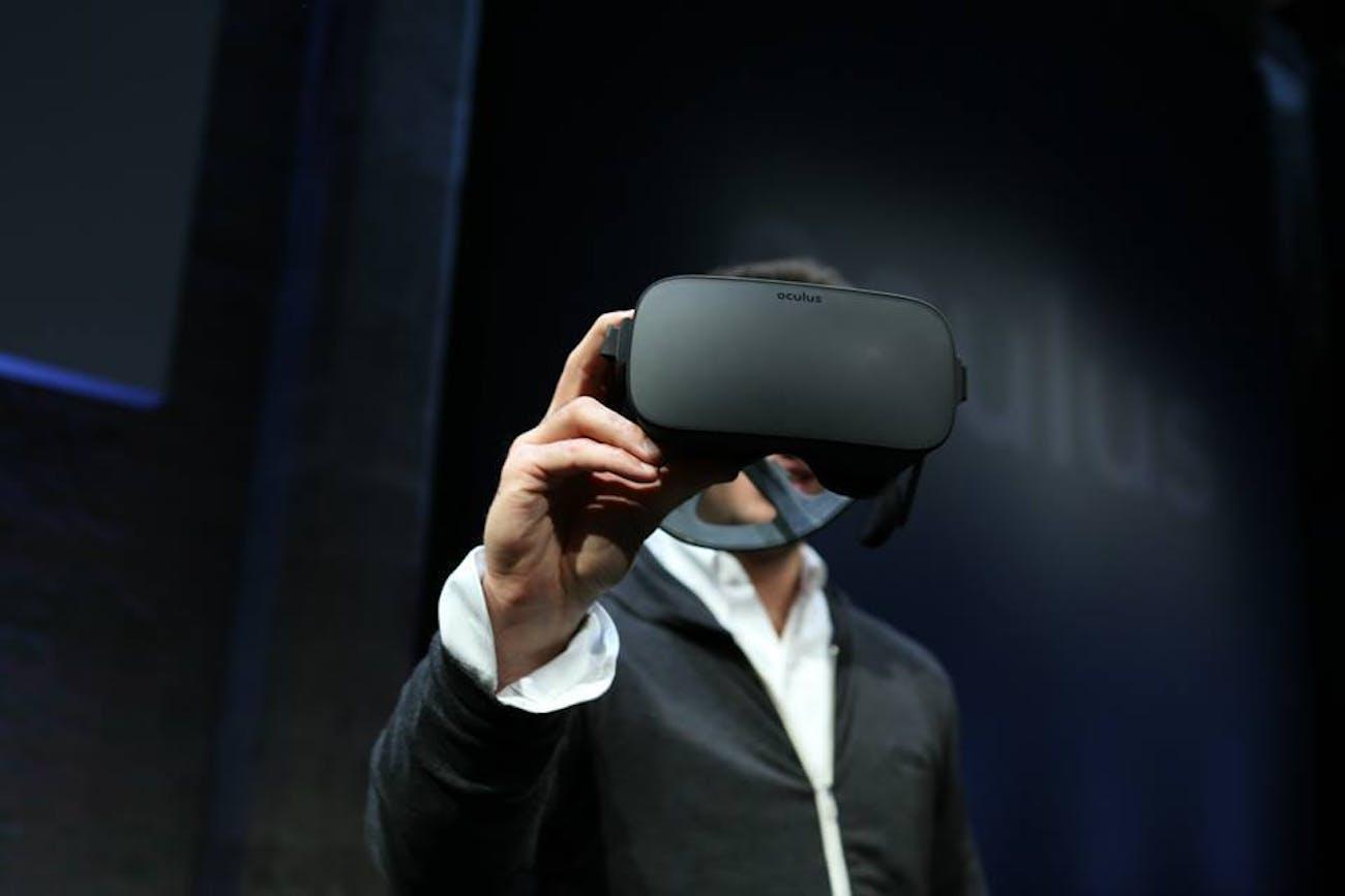 The Oculus Rift.