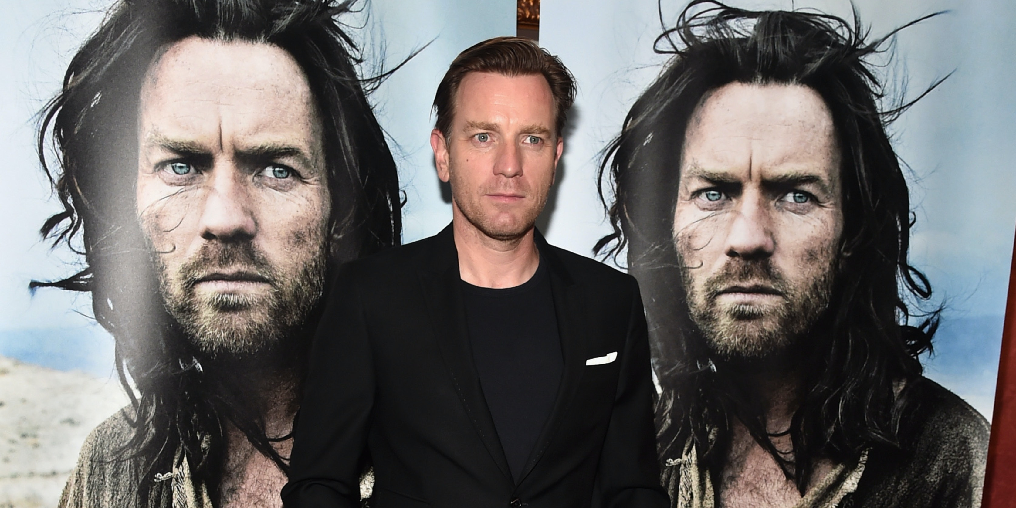 LOS ANGELES, CA - MAY 12:  Actor Ewan McGregor attends a VIP screening of Broad Green Pictures' 'Last Days In The Desert' on May 12, 2016 in Los Angeles, California.  (Photo by Alberto E. Rodriguez/Getty Images for Broad Green Pictures)