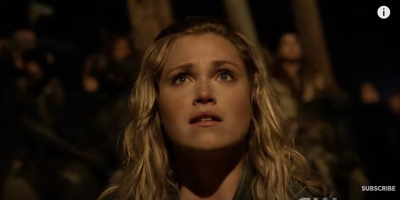 "Clarke on ""The 100"""