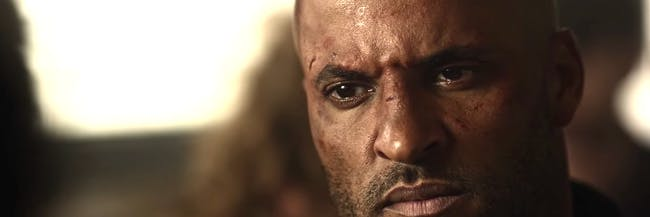 Ricky Whittle as Shadow Moon in Bryan Fuller's adaptation of Neil Gaiman's 'American Gods'