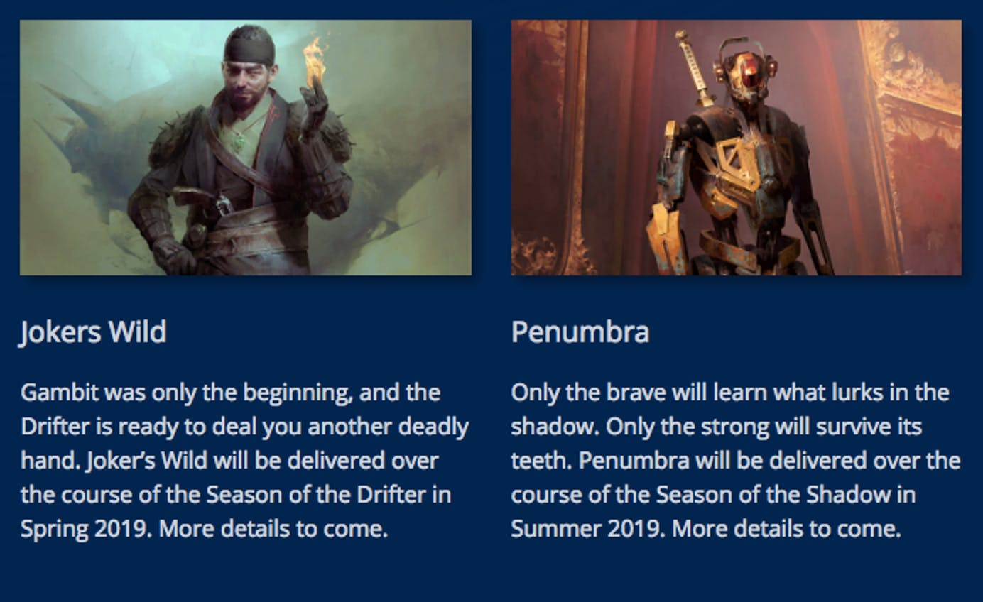 Destiny 2' Season 5 Start Date, Theme, and What We Know