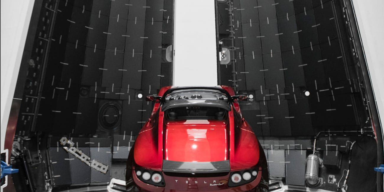 Elon Musk: SpaceX Falcon Heavy Will Take Tesla Roadster to