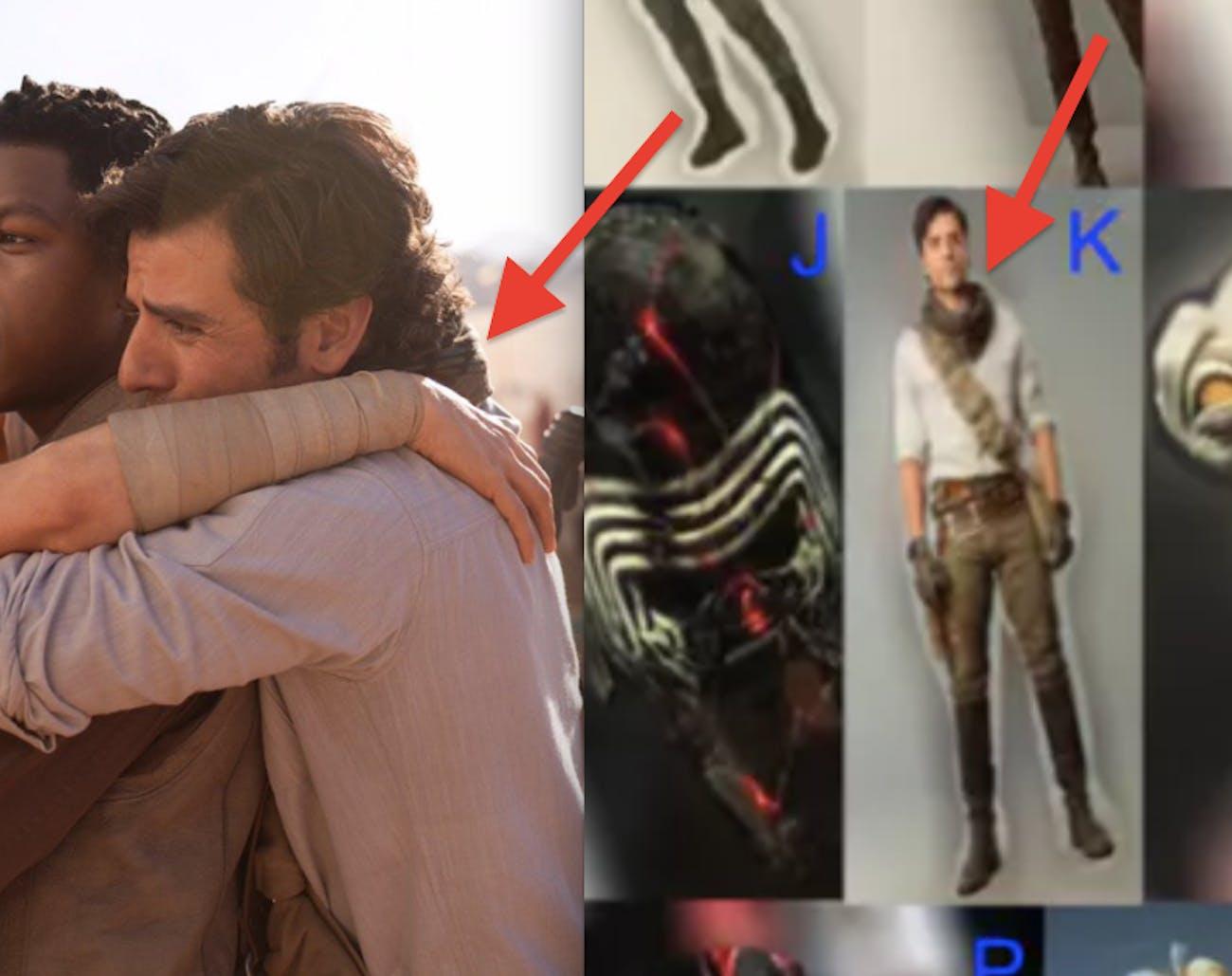 Poe in 'Star Wars: Episode IX' (behind the scenes).