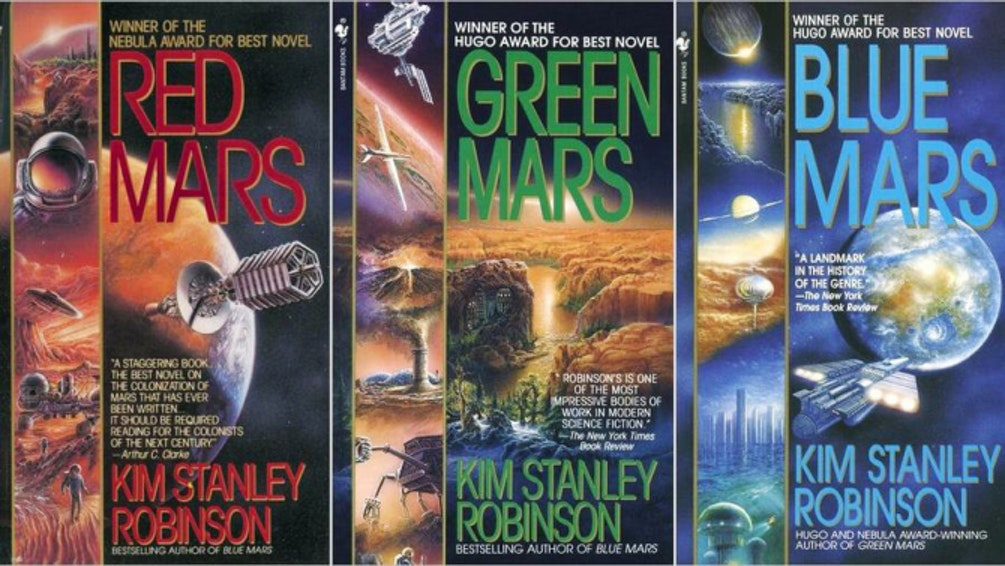 Kim Stanley Robinson's Mars trilogy.