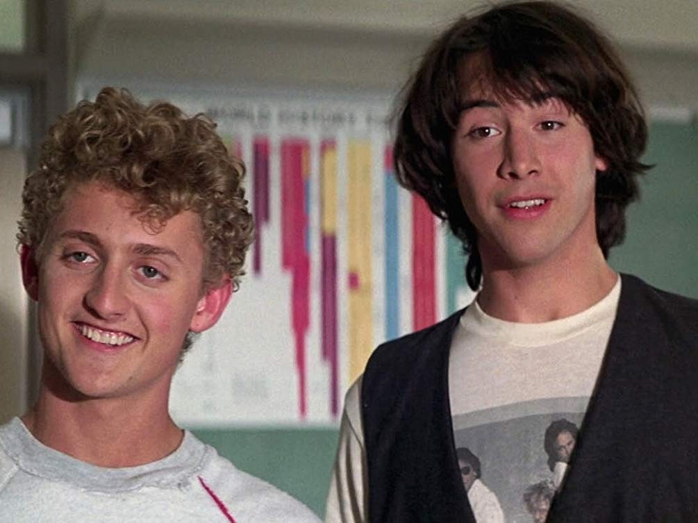 The 'Bill & Ted 3' Cast Just Added Some New & Familiar Faces