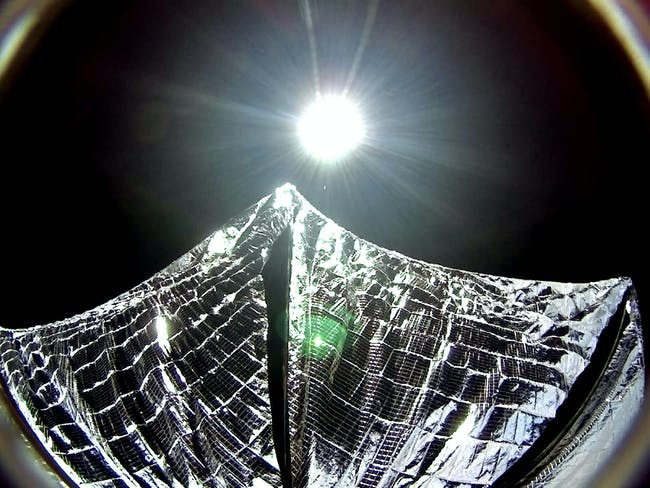 A view from LightSail 1.