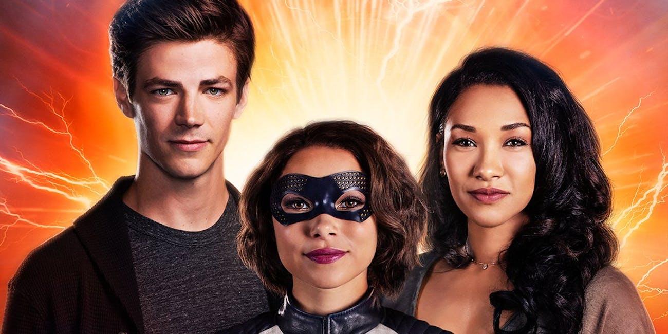 'The Flash' Season 5 Nora-West Allen Superhero Costume XS
