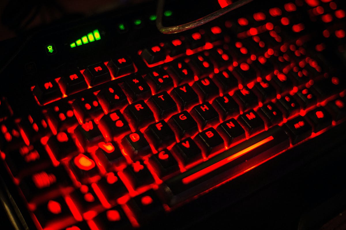 VALENCIA, SPAIN - JULY 18:  A keyboard is seen during the DreamHack Valencia 2014 on July 18, 2014 in Valencia, Spain. Dreamhack Valencia is one of the European stops from the Dreamhack World Tour, the world's largest LAN party and computer festival. This year 3,000 devices will be connected to the Dreamhack Valencia network.  (Photo by David Ramos/Getty Images)