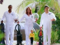 Tim Russ, Chase Masterson and Garret Wang in 'Unbelievable'