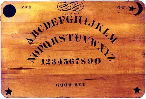 A Ouija board from 1894.
